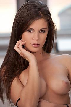 Beautiful Brunette Girl Caprice