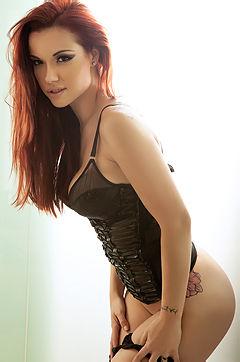 Busty Redhead Cybergirl Elizabeth Marxs