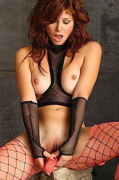 Redhead Slut Masturbating
