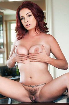 Babes: Horny And Hairy Ashlee Graham
