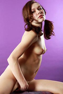 Happy Naked Girl