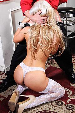 Blonde Pornstar Cameron Dee