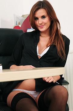 Hot Secretary Bryony Strips