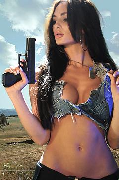 Rosie Revolver Busty
