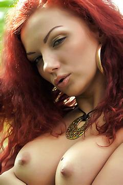 Cheeky Redhead Monika