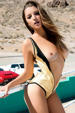 Alyssa Arce At Playboy