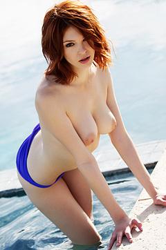 Redhead Bree Daniels