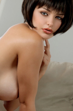 Sexy Brunette Hailee Rain