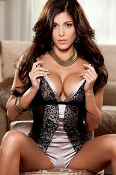 Sexy Brunette Playmate Meghan Nicole