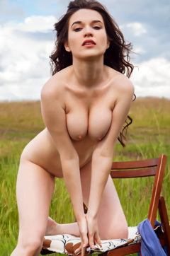 Doria A Posing Naked