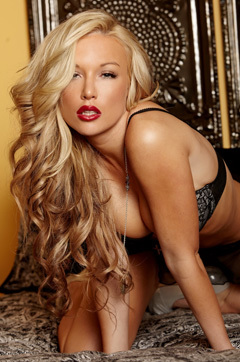 Kayden Kross Strips On Her Bed