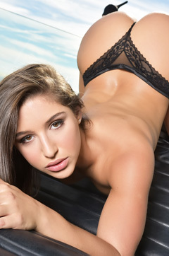 Abella Danger In Hot Fishnet Bodysuit
