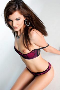 Lily Carter Strip Off Lingerie