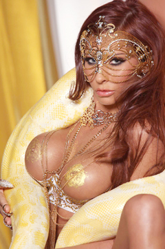 Madison Ivy Snake Charmer Goddess