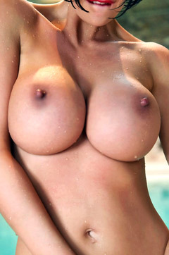 Leigh Darby Shows Her Sexy Tits