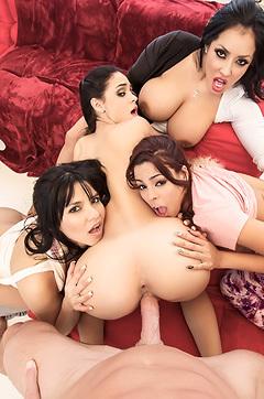 Four Latina Sluts