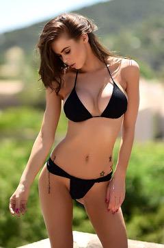 Jennifer In Black Bikini