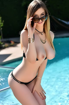 Stella Cox Strips By The Pool
