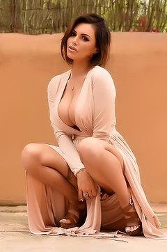 Glamour Babe Gemma Massey