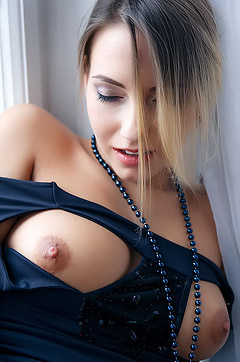 Busty Blonde Angelica