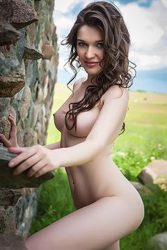 Sexy Brunette Teen Doria A