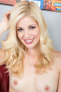Horny Blonde Charlotte