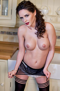 Adele Taylor - Sexy Maid In The Kitchen