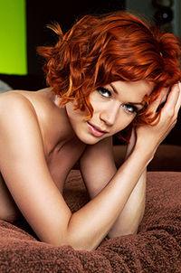 Redhead Playboy Beauty Kami