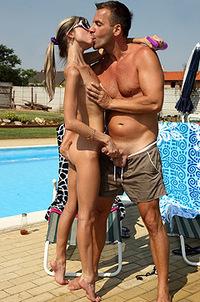 Gina Gerson With Her Boyfriend